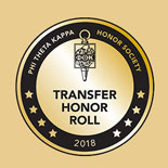 Transfer Honor Roll seal for 2018