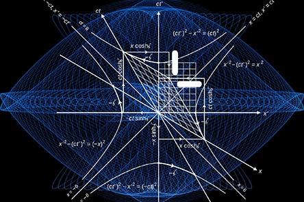 3D model of mathematics equations