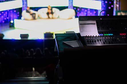 Talk show and soundboard
