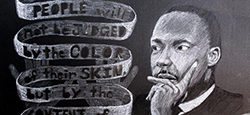 Painting of Dr. Martin Luther King Jr.
