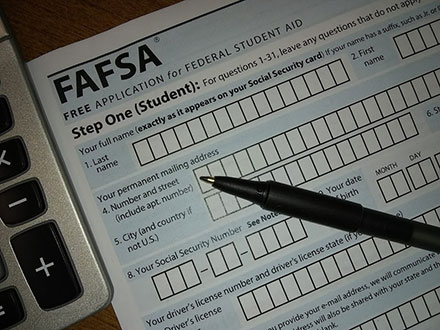 Free Application for Federal Student Aid (FAFSA) Form