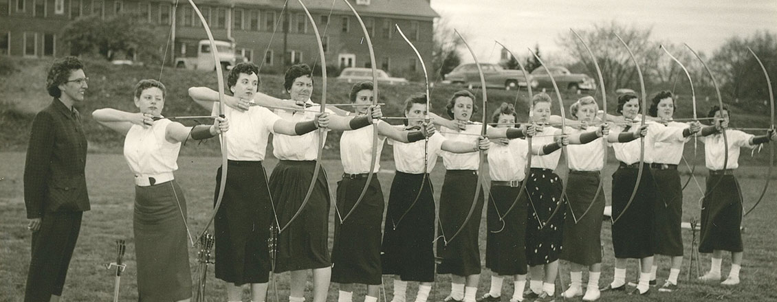 Archery Students