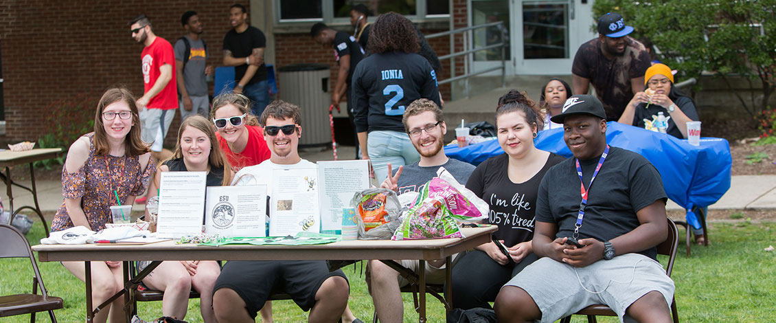 Students at Community on the Quad